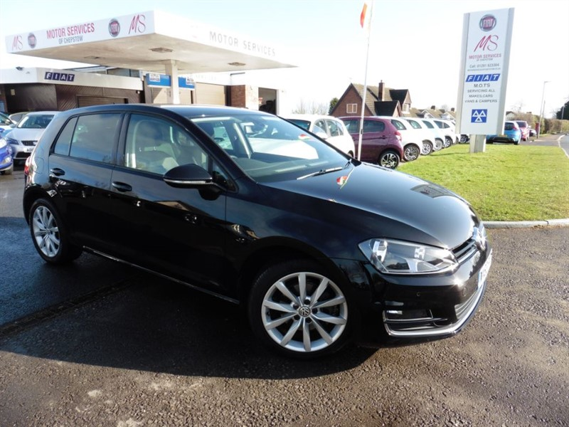 used VW Golf GT TDI BLUEMOTION TECHNOLOGY DSG in chepstow-wyvern