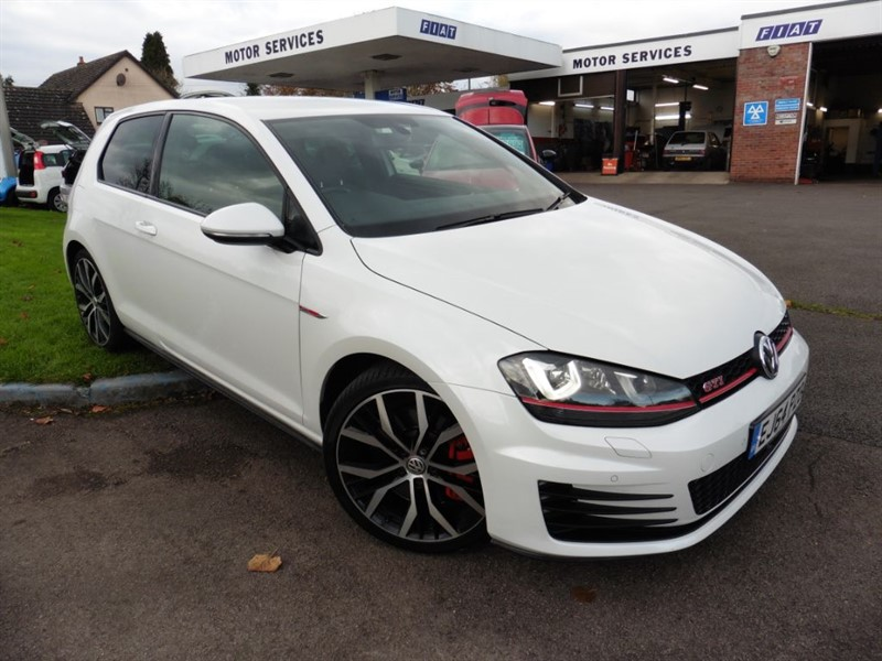used VW Golf GTI PERFORMANCE DSG in chepstow-wyvern