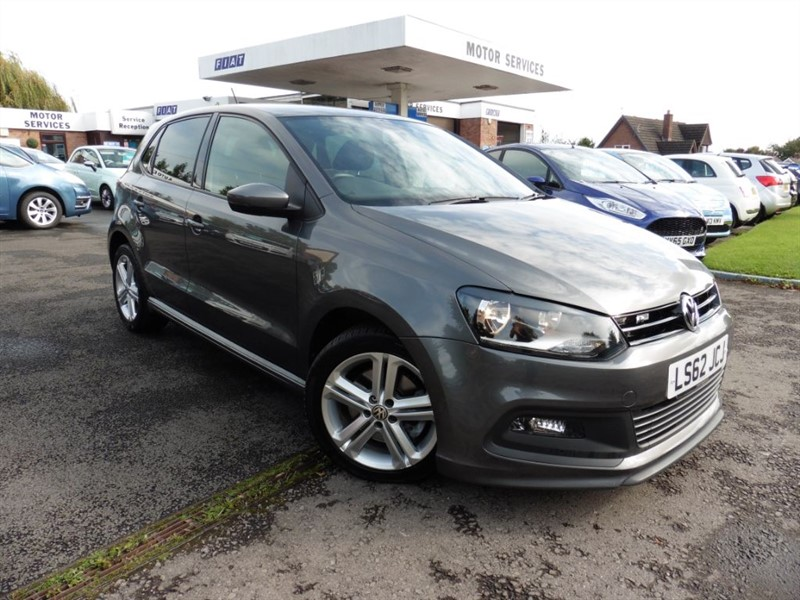 used VW Polo R LINE TSI in chepstow-wyvern