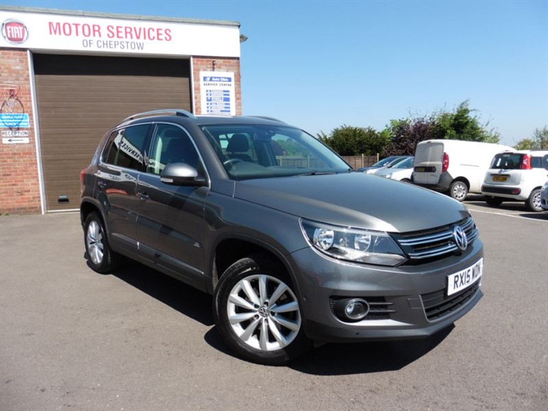 used VW Tiguan MATCH TDI BLUEMOTION TECHNOLOGY 4MOTION in chepstow-wyvern
