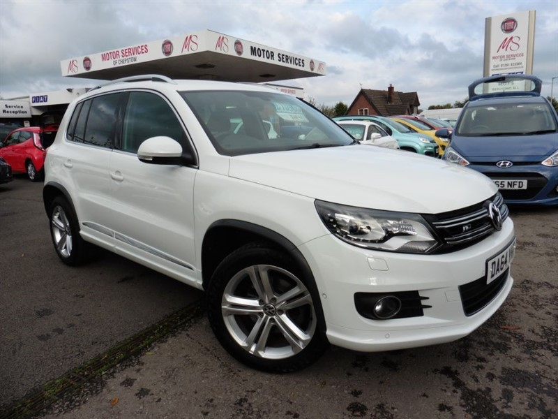 used VW Tiguan R LINE TDI BLUEMOTION TECHNOLOGY 4MOTION in chepstow-wyvern