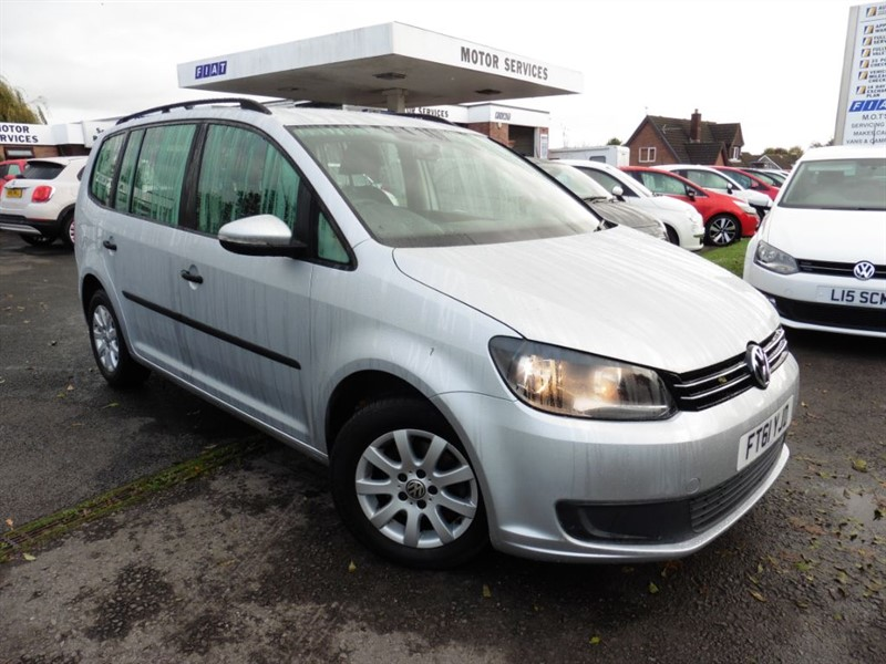 used VW Touran S TDI in chepstow-wyvern