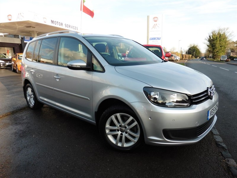used VW Touran SE TDI BLUEMOTION TECHNOLOGY DSG in chepstow-wyvern