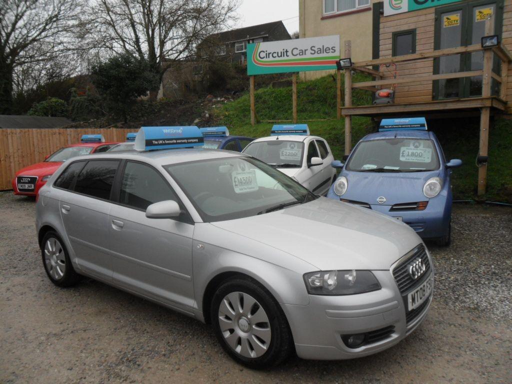 used Audi A3 TDI E SPECIAL EDITION in devon