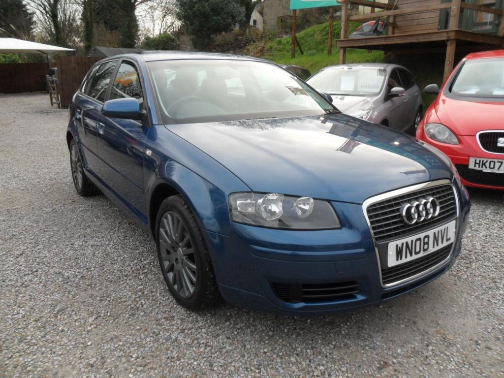 used Audi A3 TDI SE in devon