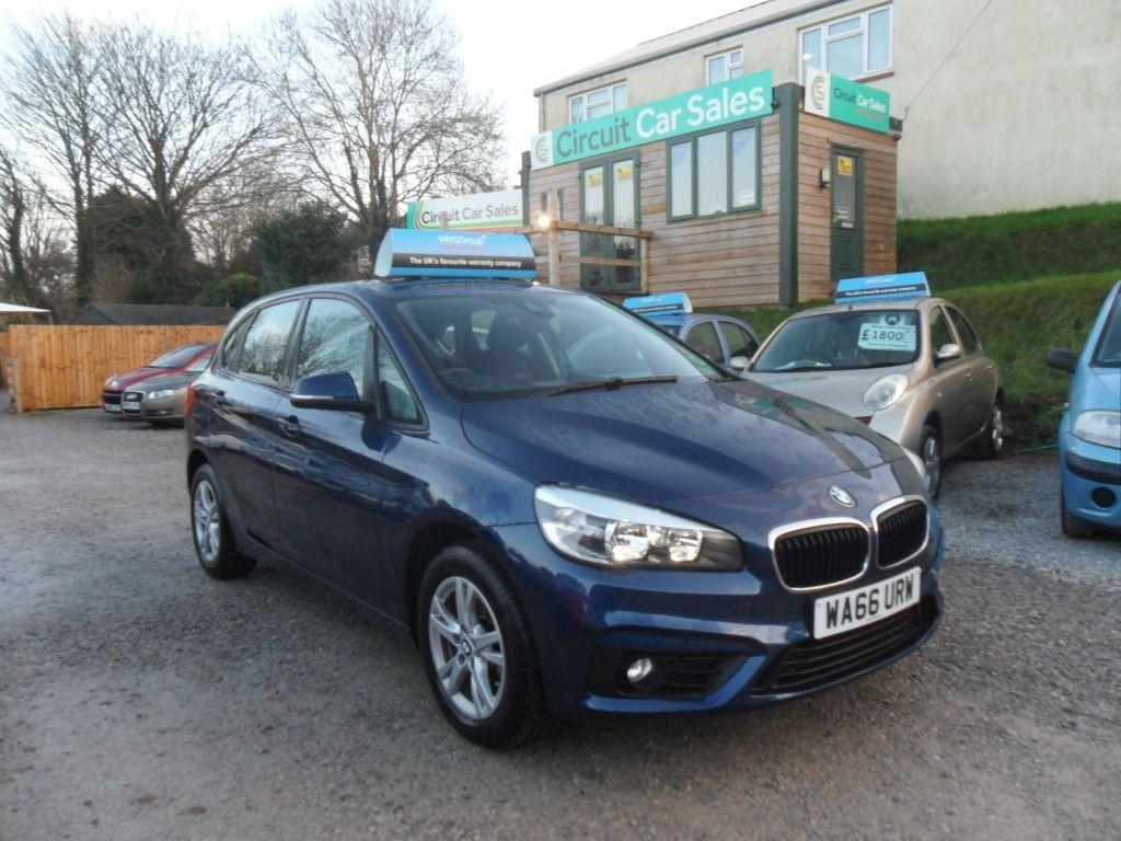 used BMW 218d SE ACTIVE TOURER in devon