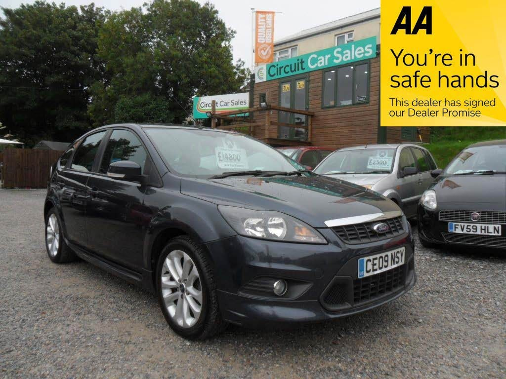 used Ford Focus ZETEC S S/S in devon