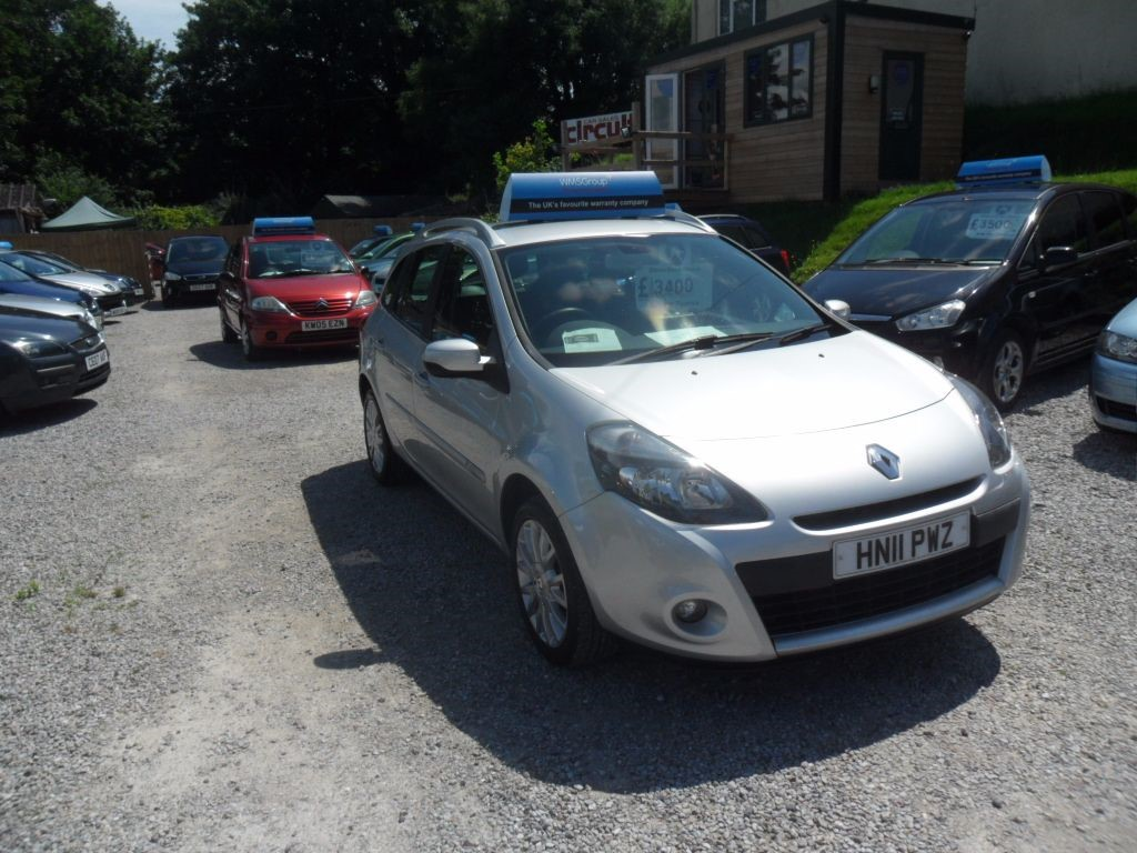 used Renault Clio DYNAMIQUE TOMTOM TCE in devon