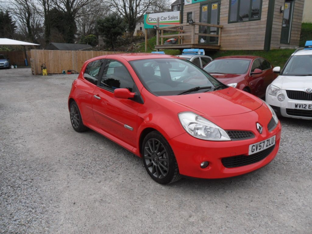 used Renault Clio RENAULTSPORT 197 in devon