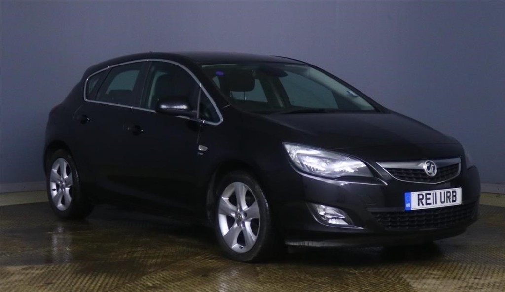 used Vauxhall Astra SRI in devon