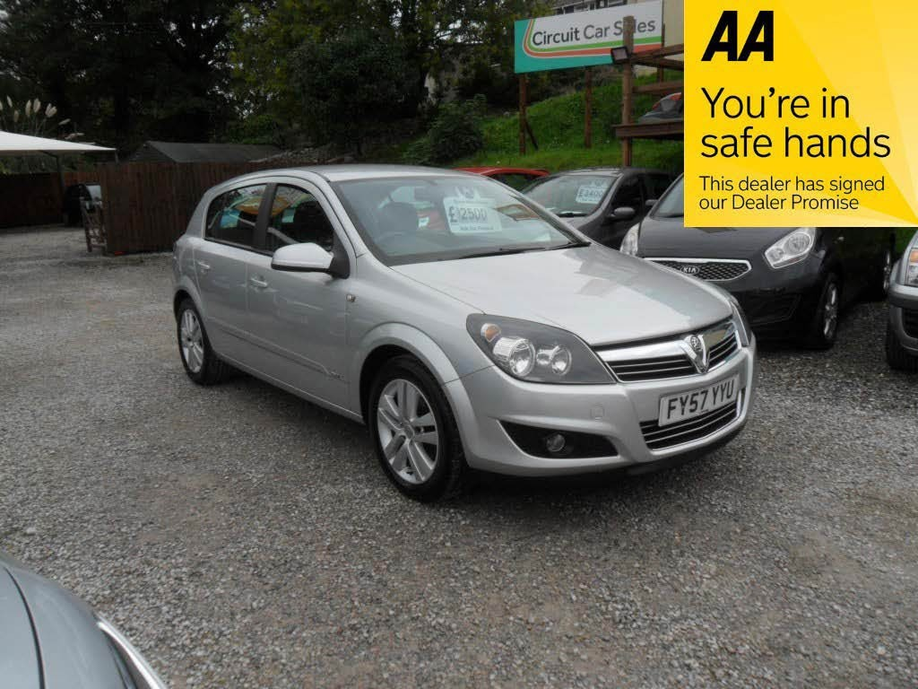 used Vauxhall Astra SXI in devon