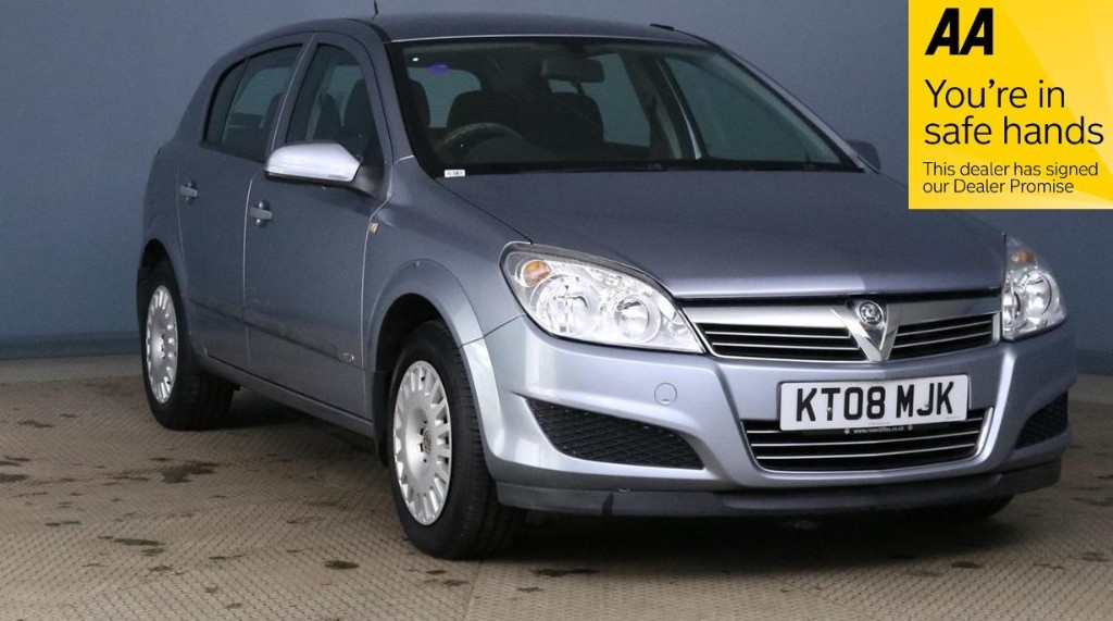 used Vauxhall Astra LIFE 16V TWINPORT in devon