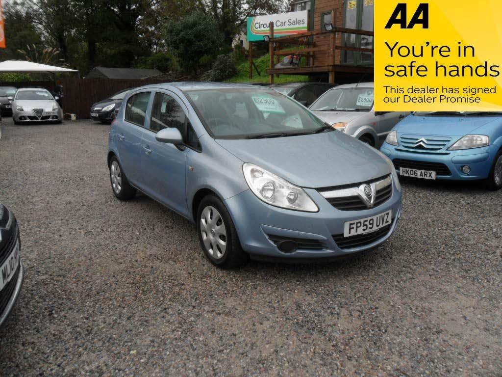 used Vauxhall Corsa CLUB AC CDTI in devon