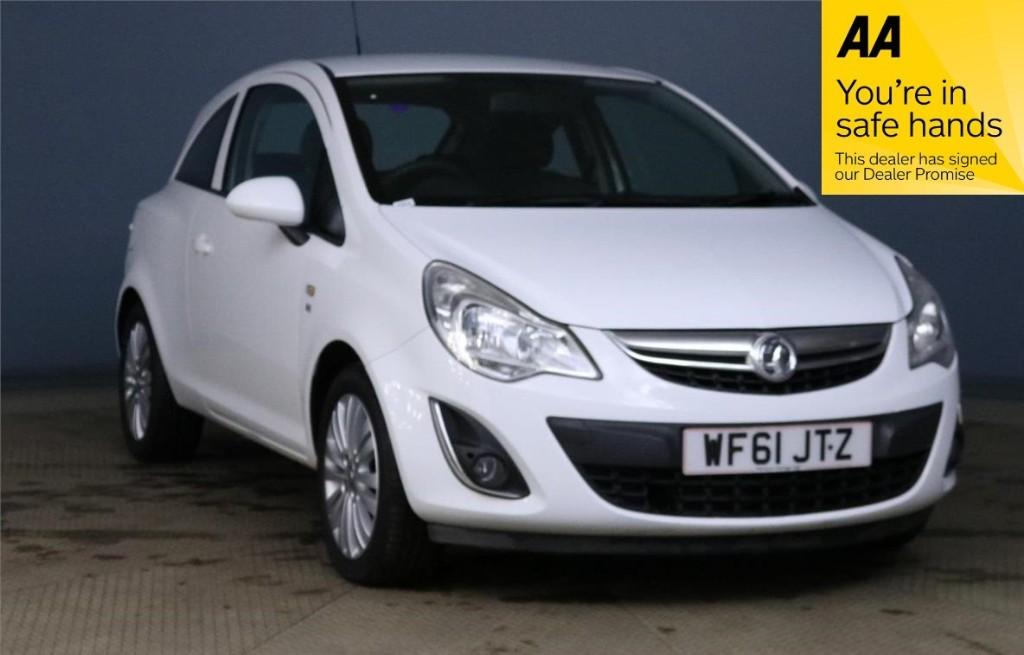 used Vauxhall Corsa EXCITE AC CDTI ECOFLEX in devon