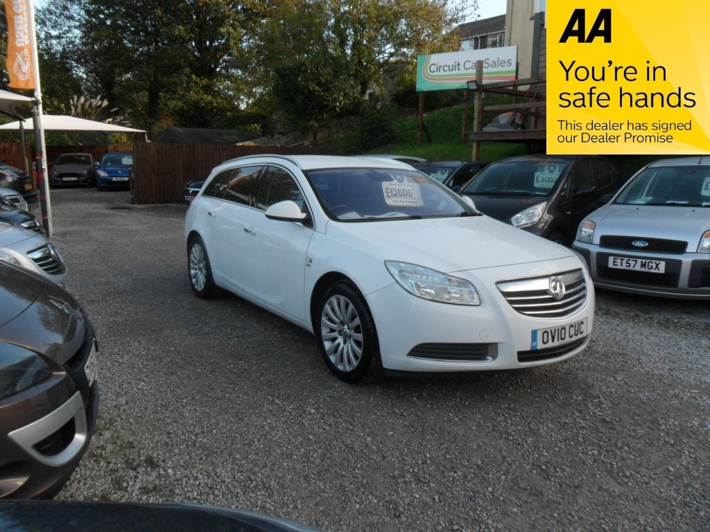 used Vauxhall Insignia SE CDTI in devon