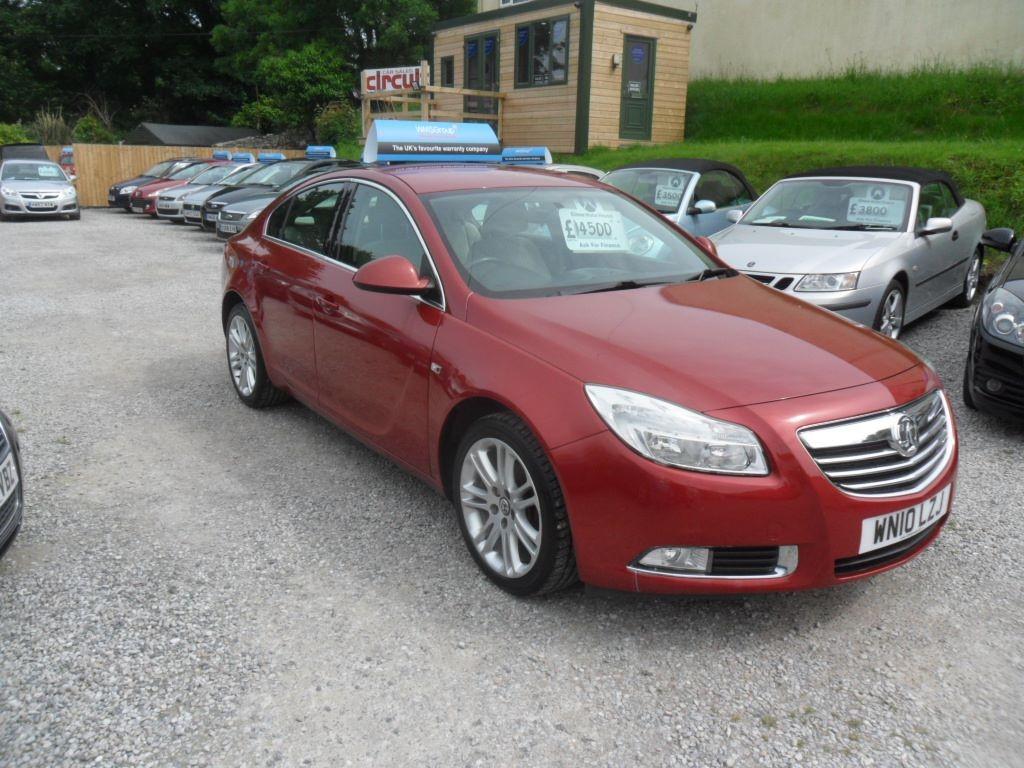 used Vauxhall Insignia EXCLUSIV CDTI in devon