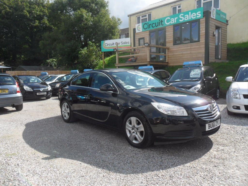 used Vauxhall Insignia EXCLUSIV NAV CDTI ECOFLEX S/S in devon