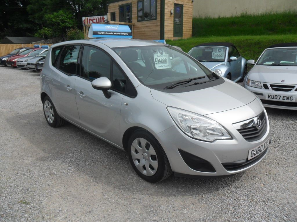 used Vauxhall Meriva EXCLUSIV CDTI in devon