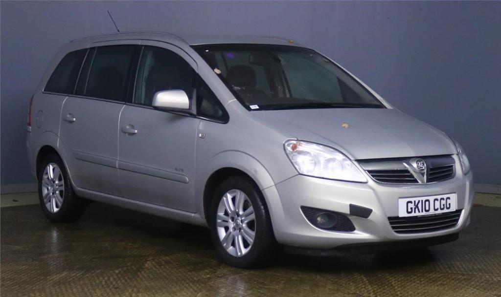 used Vauxhall Zafira ELITE CDTI in devon