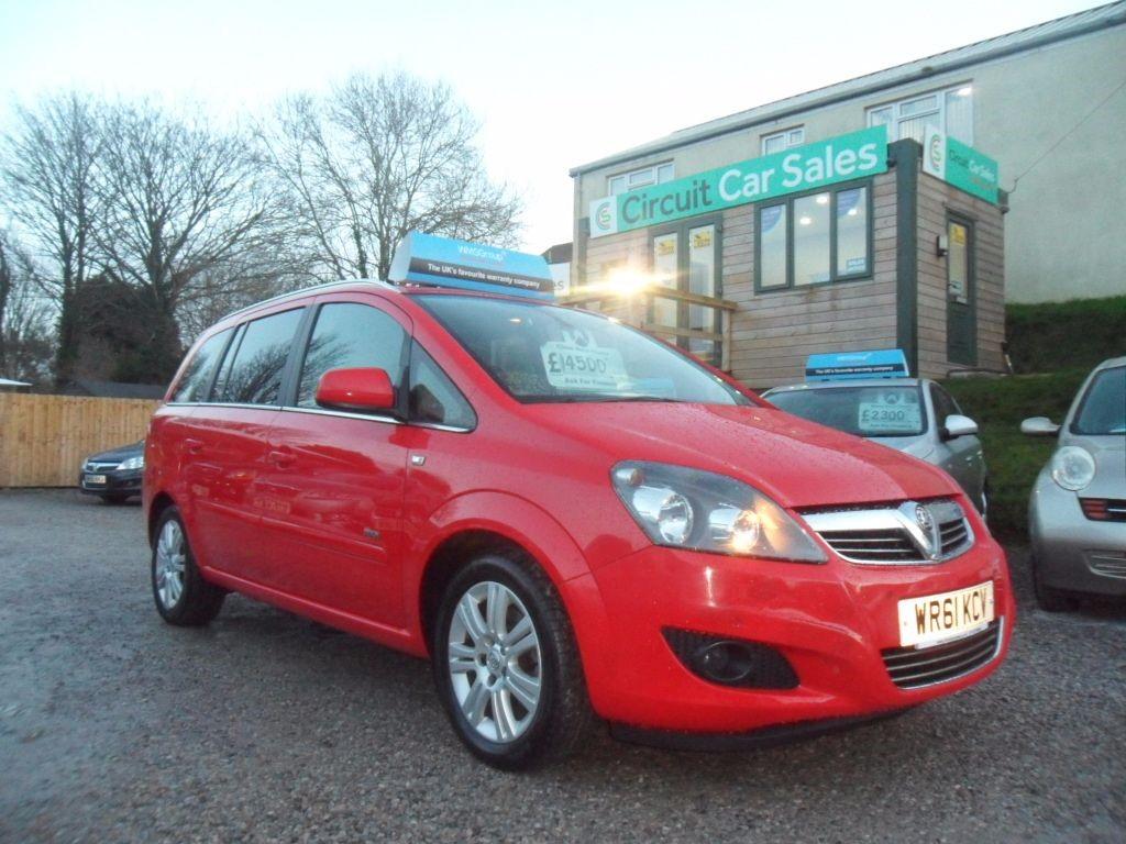 used Vauxhall Zafira DESIGN in devon