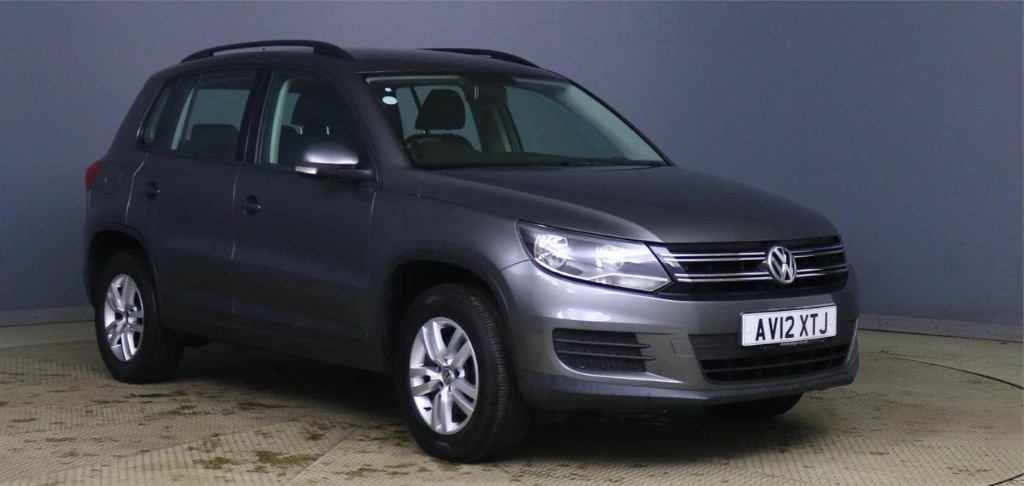 used VW Tiguan S TDI BLUEMOTION TECHNOLOGY in devon