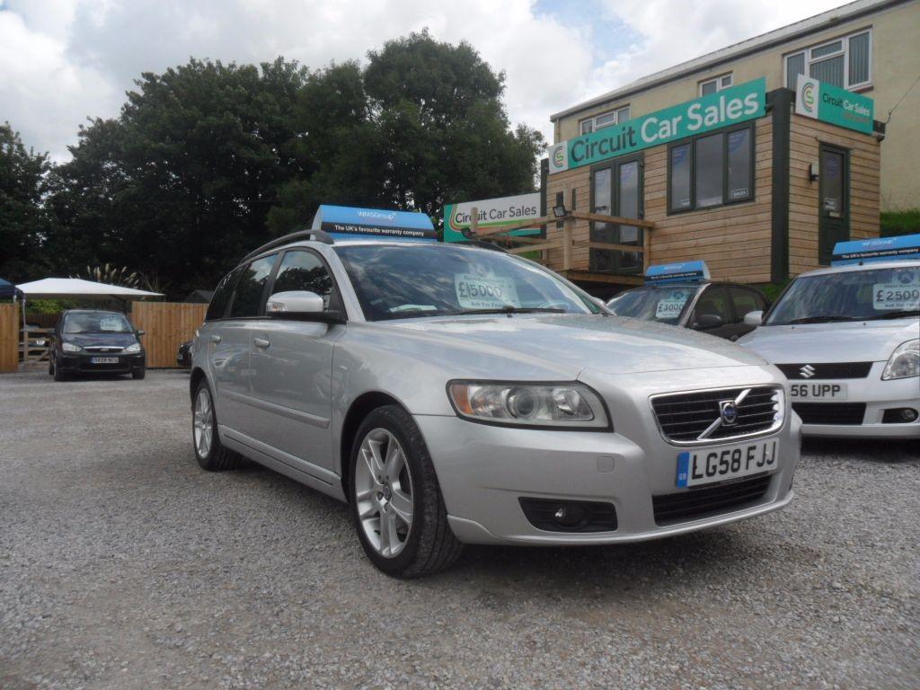 used Volvo V50 SE D in devon