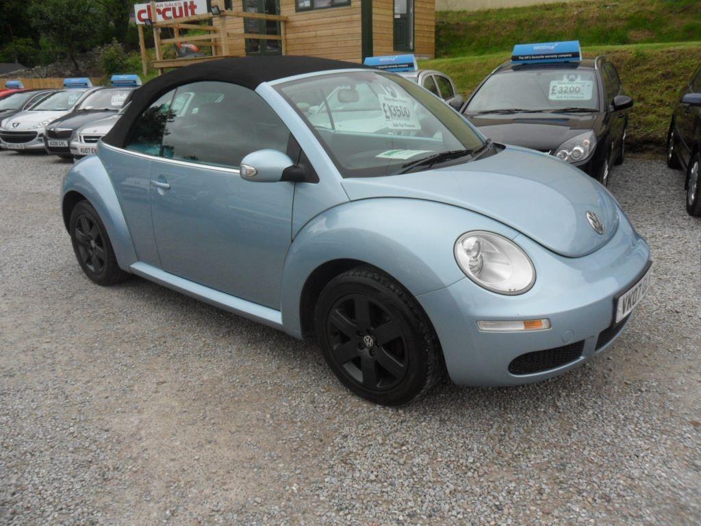 used VW Beetle LUNA 8V in devon