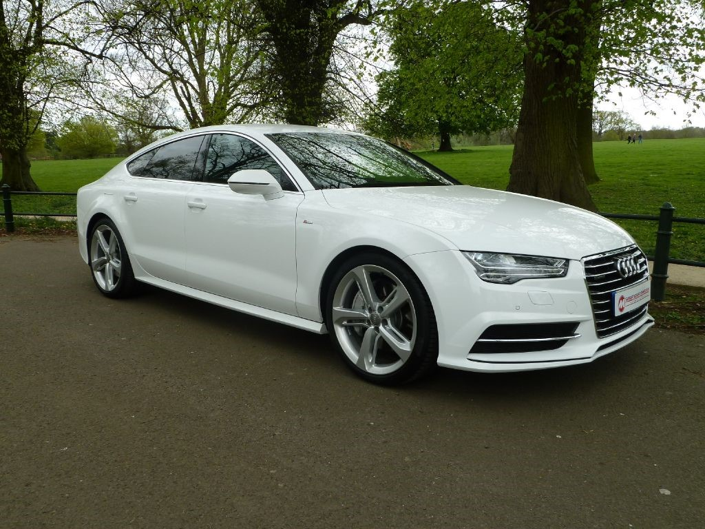 used white audi a7 for sale northamptonshire. Black Bedroom Furniture Sets. Home Design Ideas