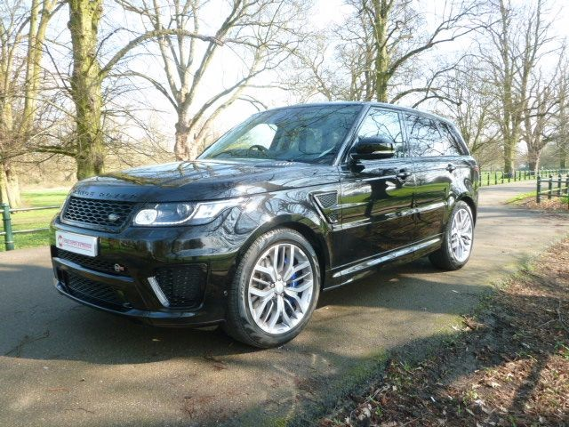 used Land Rover Range Rover Sport V8 SVR in northamptonshire