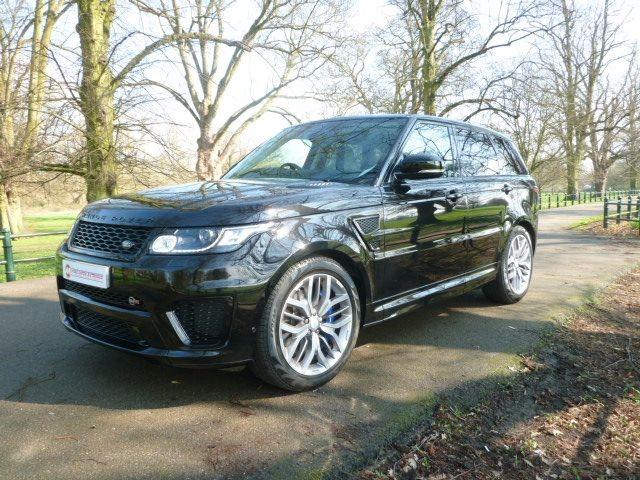 used Land Rover Range Rover Sport V8 SVR in northamptonshire