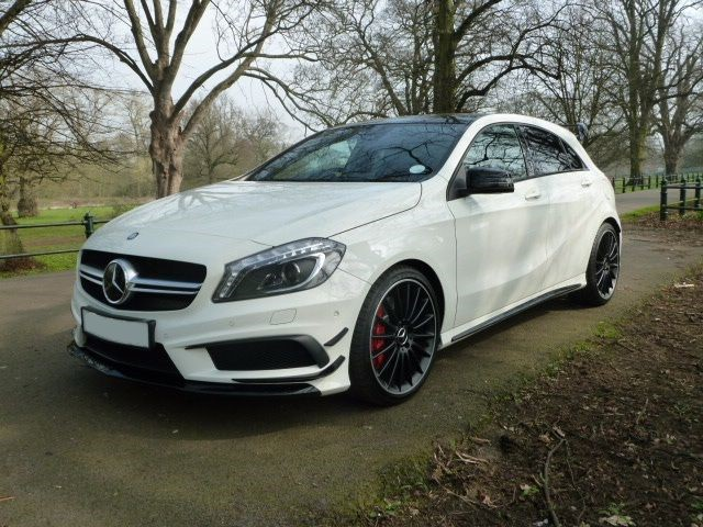 used Mercedes A45 AMG 4MATIC in northamptonshire