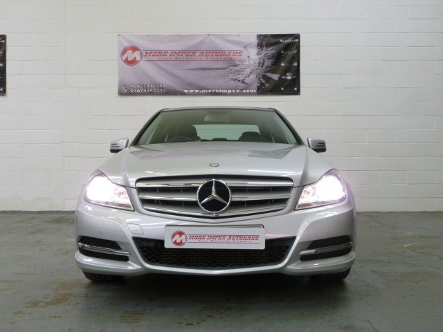 used Mercedes C180 C Class Blueefficiency Executive SE in northamptonshire