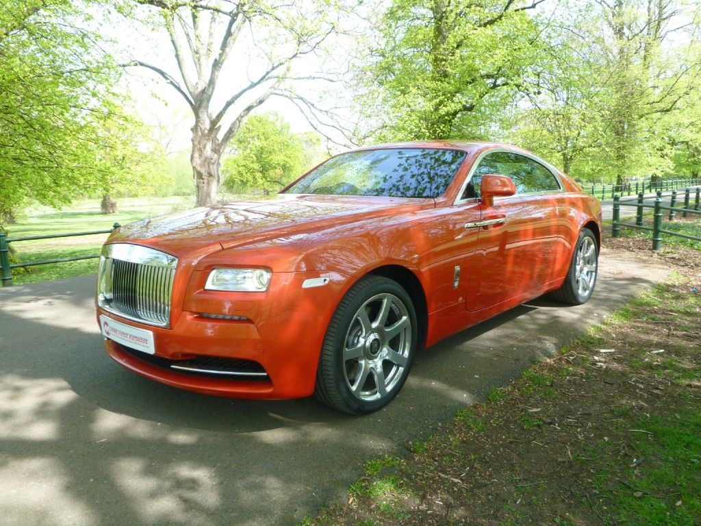 Used Orange Rolls-Royce Wraith For Sale