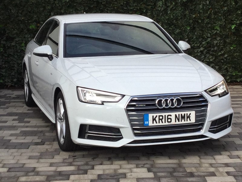 used Audi A4 TDI QUATTRO S LINE S TRONIC in carshalton-surrey