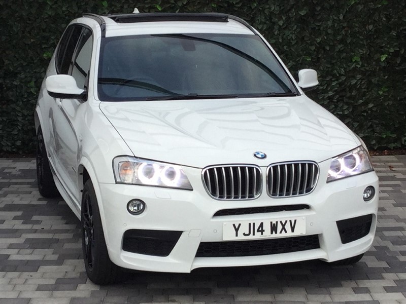 used BMW X3 XDRIVE30D M SPORT in carshalton-surrey
