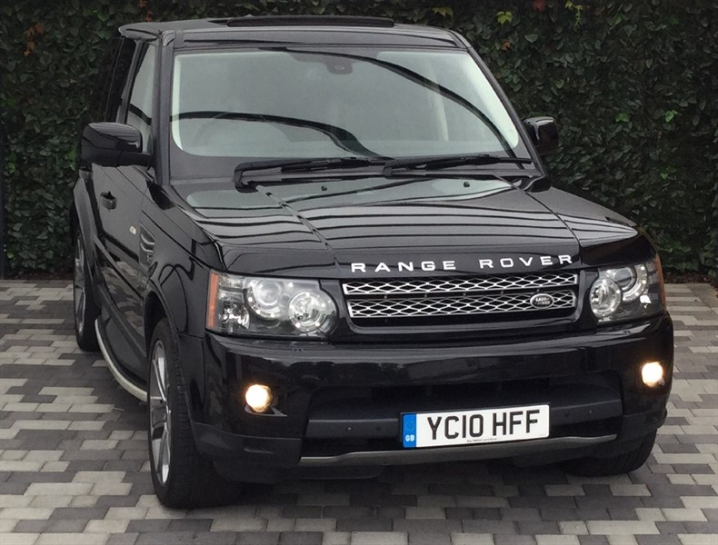 used Land Rover Range Rover Sport V8 HSE SUPER CHARGE in carshalton-surrey