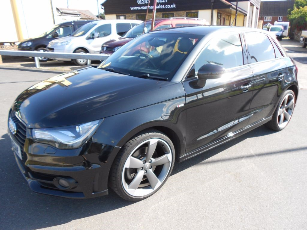 used Audi A1 SPORTBACK TDI S LINE BLACK EDITION in Chelmsford