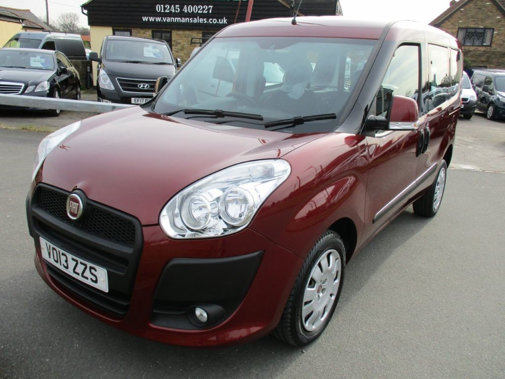 used Fiat Doblo MYLIFE WAV Wheelchair Accessible Vehicle * Only 12,000 Miles * in Chelmsford