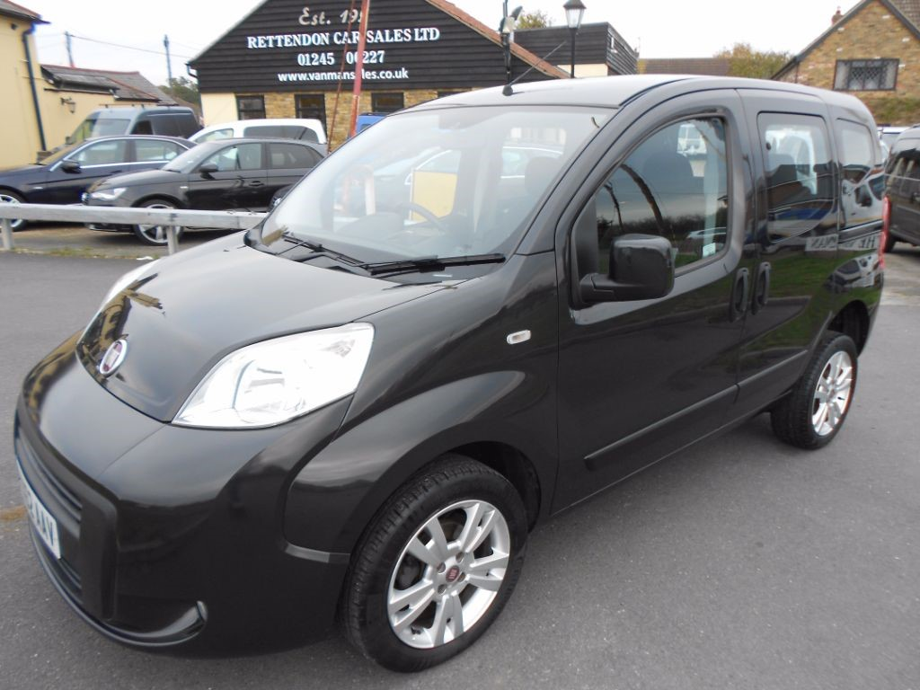 used Fiat Qubo MYLIFE WAV Wheelchair Accessible Vehicle * Only 23,000 Miles * in Chelmsford