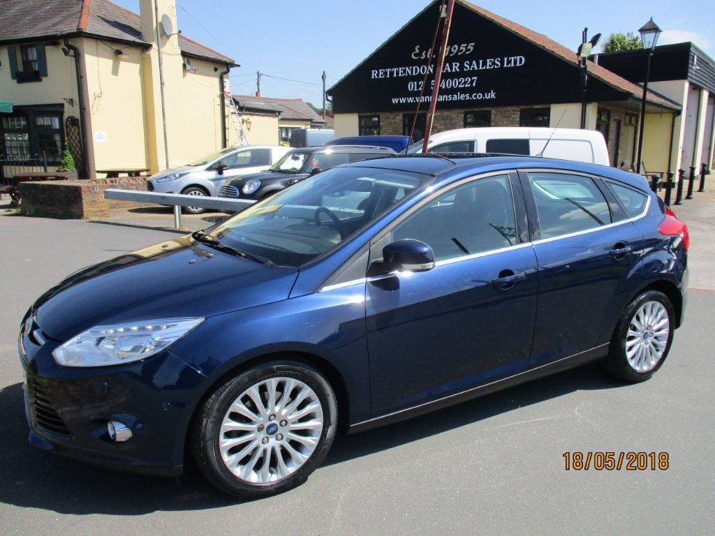 used Ford Focus TITANIUM X TURBO 1.0 CC PETROL CAR * Only 42,000 Miles * in Chelmsford