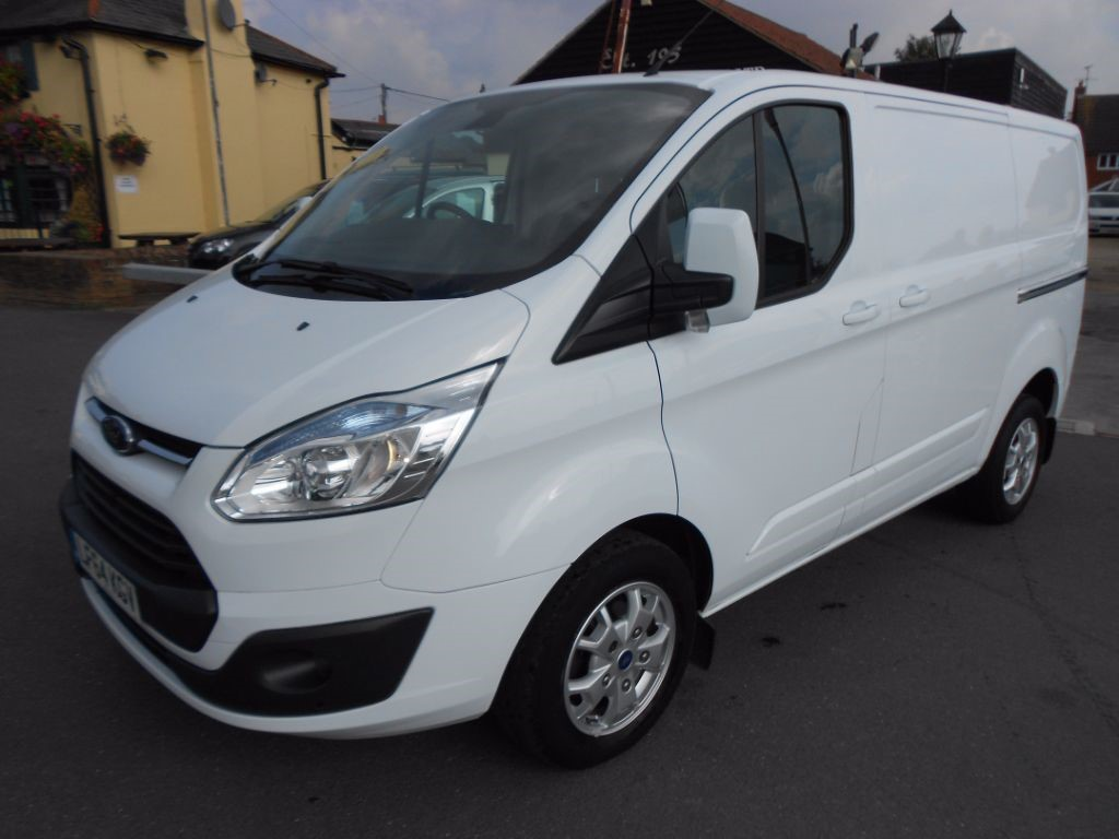 used Ford Transit Custom 270 LIMITED LR Diesel Panel Van * Only 40,000 Miles * in Chelmsford