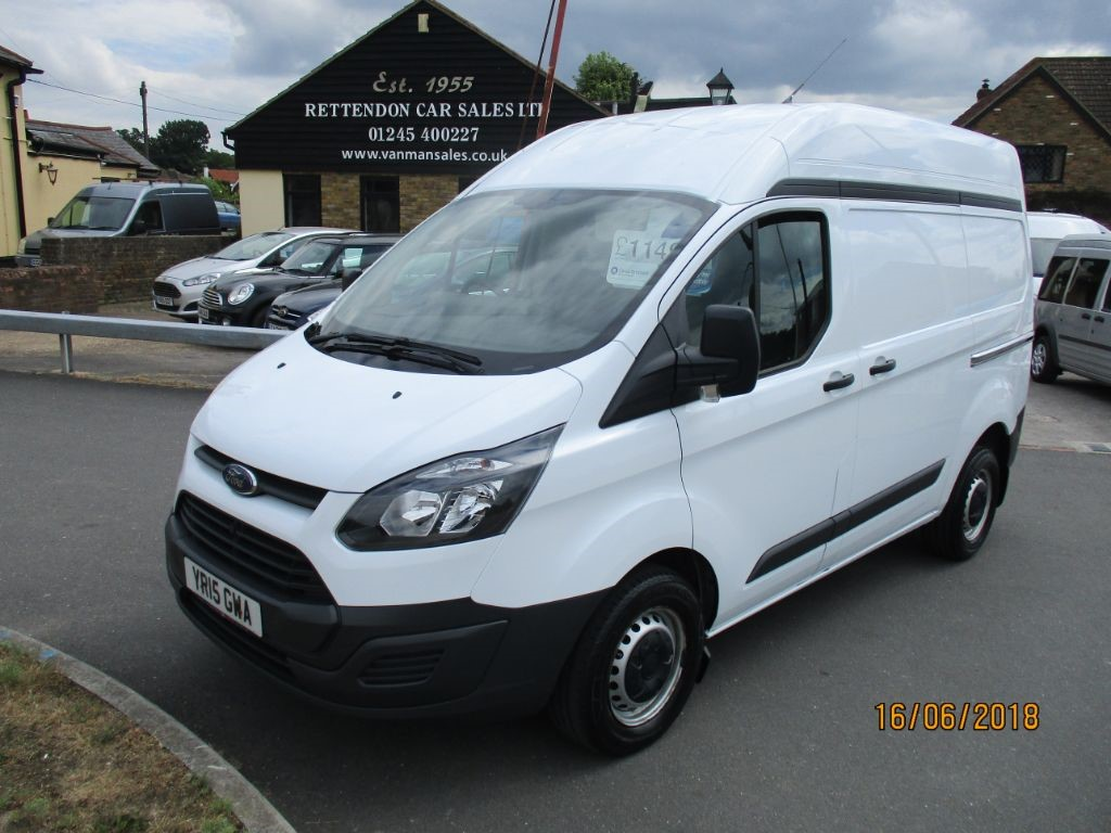 used Ford Transit Custom 290 LR P/V ECO-TECH Diesel Van * Only 39,000 Miles * in Chelmsford