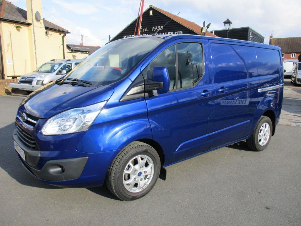 used Ford Transit Custom 270 LIMITED Diesel Van * Only 28,000 Miles * in Chelmsford