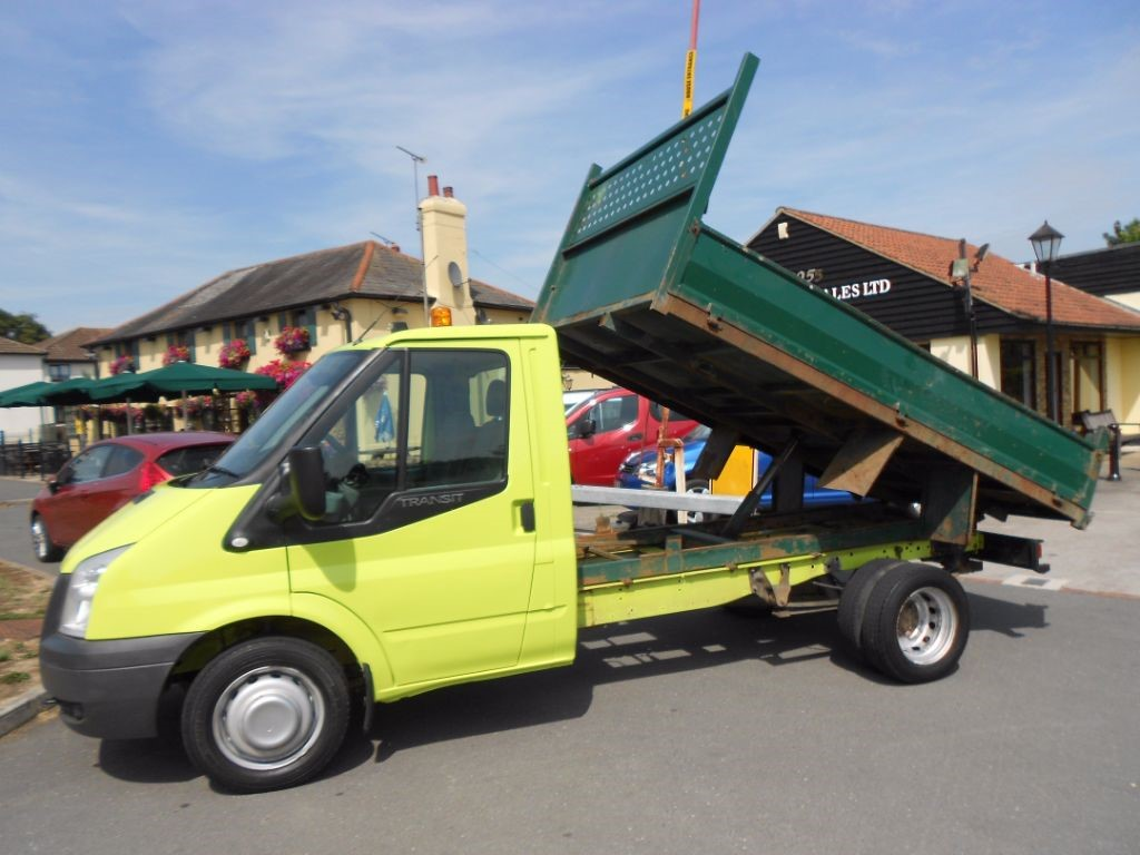 used Ford Transit T350 LIMITED Diesel Tipper Truck * Only 40K Miles * in Chelmsford