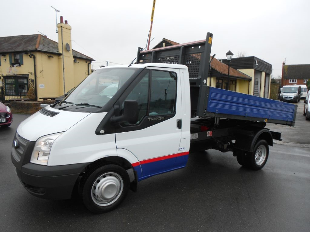 used Ford Transit 350 Single Cab One Stop Tipper Diesel Truck * Only 28K Miles * in Chelmsford