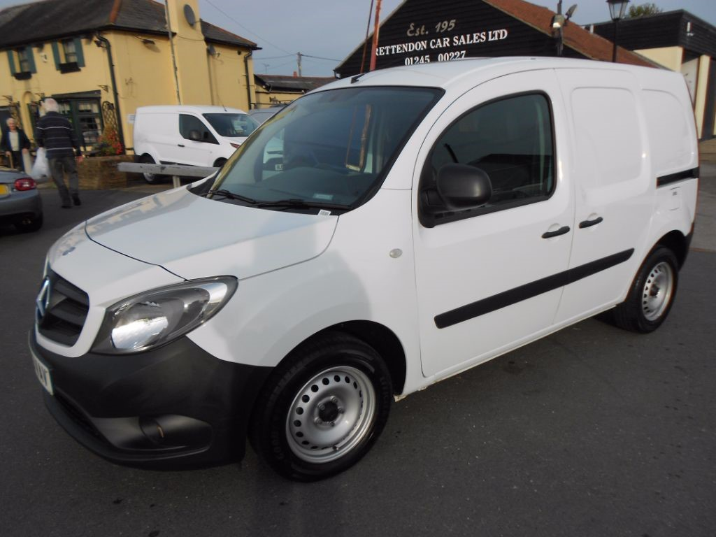used Mercedes Citan 109 CDI Diesel Van * Only 20K Miles * in Chelmsford