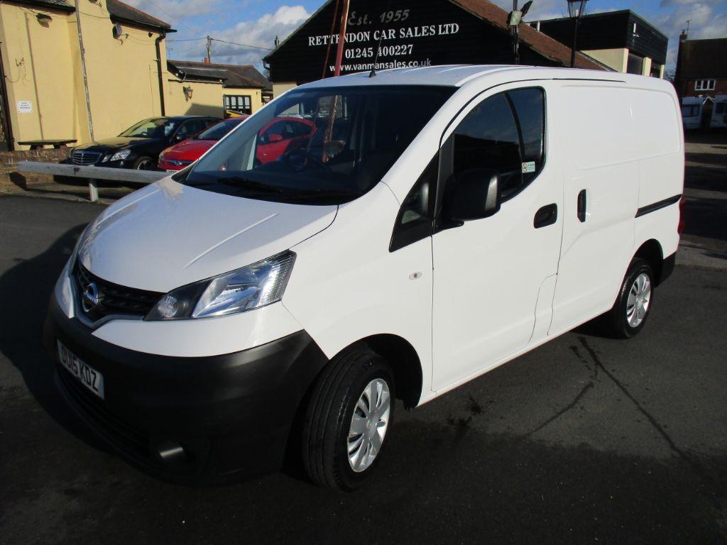 used Nissan NV200 DCI ACENTA Diesel Van * Only 25,000 Miles * in Chelmsford