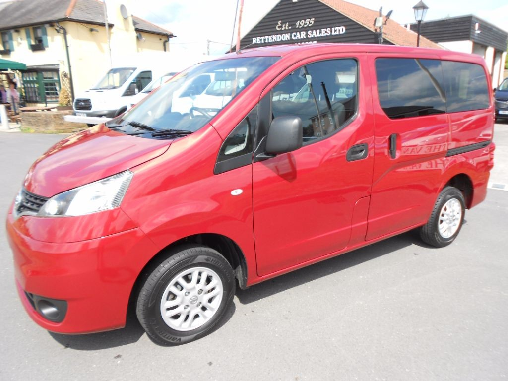 used Nissan NV200 DCI SE COMBI Wheelchair Access Vehicle * Only 18K Miles * in Chelmsford