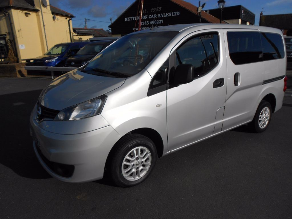 used Nissan NV200 DCI SE COMBI Diesel WAV * Only 39,000 Miles * in Chelmsford