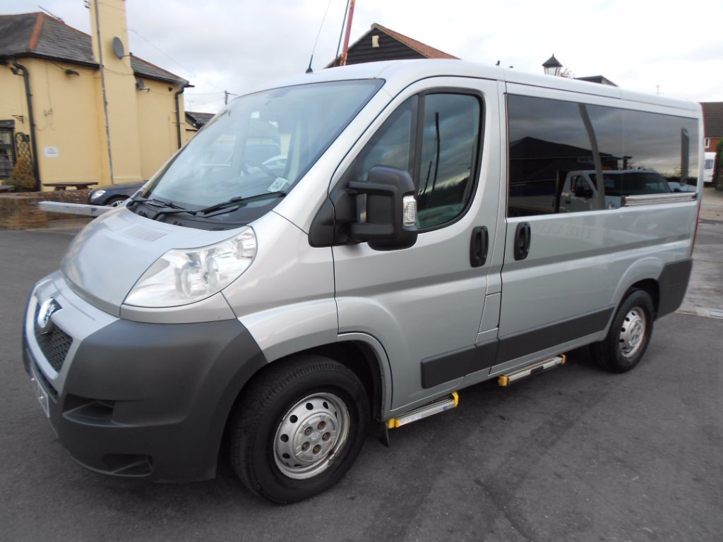 used Peugeot Boxer 333 L1H1 SWB Wheelchair Accessible Vehicle in Chelmsford